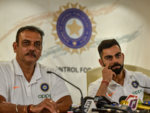 Kohli, Shastri gear up for World Cup, address the media before departure