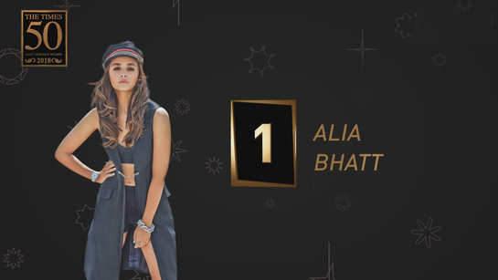 Alia Bhatt is the Times Most Desirable Woman of 2018