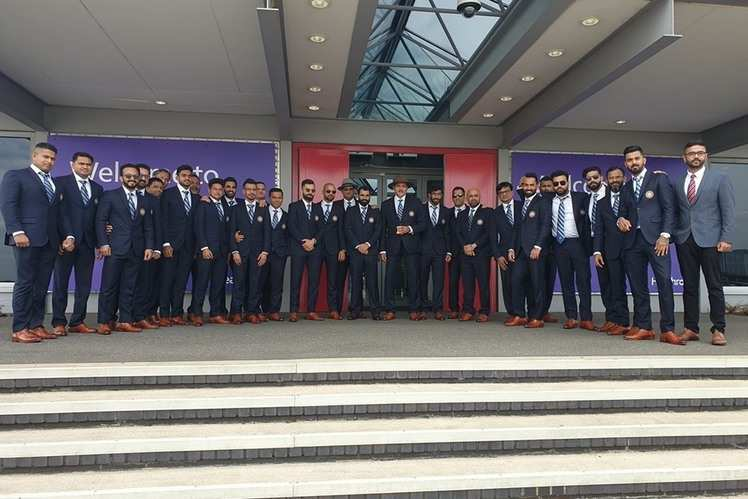 All the best to Team India!