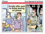 'Kindly offer seat'