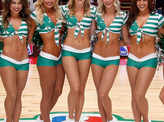 Stunning pictures of the most gorgeous basketball cheerleaders