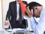 Your co-workers cause you more stress than your boss, says a study!