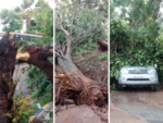 Hanumanthangar, RR Nagar and Utharahalli affected