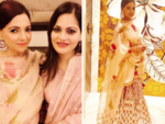 Deanne Panday and Alvira Khan Agnihotri attend Eid party