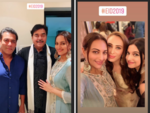 Shatrughan and Sonakshi attend Eid party