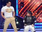 Salman Khan sir always pushes me to do my best