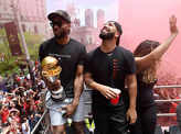 More than a million people attend Toronto Raptors victory parade​