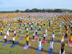 Yoga under the open sky