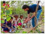 Sushil feeds and educates slum children daily