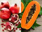 Pomegranate and pumpkin