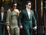 Priyanka and Nick step out in style