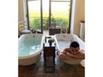Joe Jonas relaxes before the big day