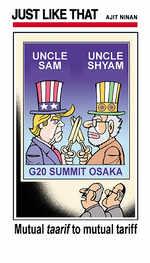 Uncle Sam-Uncle Shyam