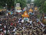 The Rath Yatra begins