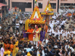 CM Vijay Rupani a part of the procession
