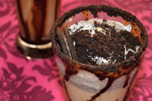 Oreo Coffee Milk Shake