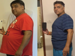 A look at his inspiring weight loss journey