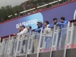 Team India waiting for rain to stop