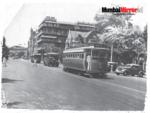 Trams in Mumbai in 1968