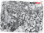 Crowd during Diwali