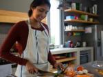 Women spend more time than men doing household work