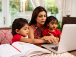 Women spend more time in childcare