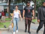 Lovebirds Malaika Arora and Arjun Kapoor spotted at BKC