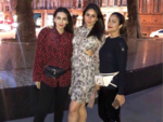 Kareena, Karisma and Amrita Arora enjoy a girls' night out
