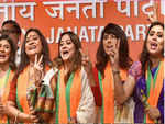 Large group of Tolly Stars Join BJP