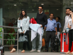 Arjun Rampal, Gabriella leave hospital with newborn