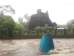 Historic Ambernath temple swamped