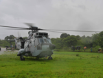 Choppers return due to poor weather