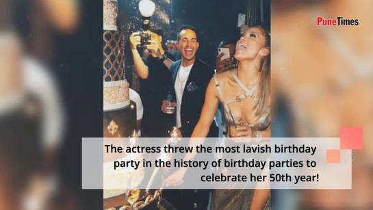 Jenifer Lopez throws a dreamy birthday bash!