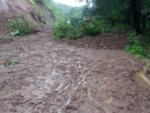 Landslide near Mahabaleshwar