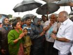 CM visits flood-affected in Belagavi
