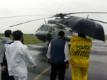 CM Fadnavis reaches Kolhapur