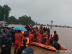 Rescue boat capsizes in Sangli