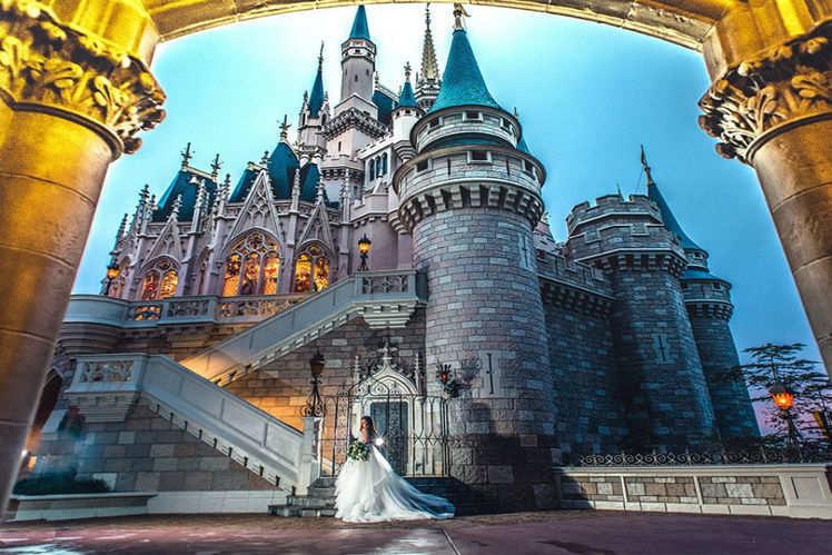 Soon Disneyland Can Be Your Wedding Photoshoot Destination