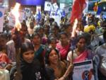 Midnight celebrations in Bengaluru