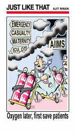 AIIMS fire
