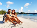 It's beach time for Virat kohli and Anushka Sharma