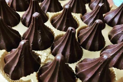 Coconut Chocolate Modak