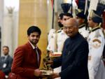 Arjuna Award for Sai Praneeth