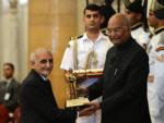 Marzban Patel receives Dronacharya Award