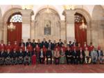 President Ram Nath Kovind with the awardees