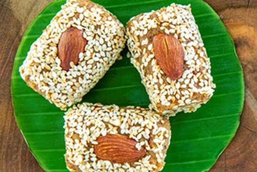 Almond and Sesame Pinni