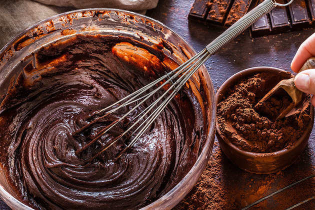 Chocolate-dough