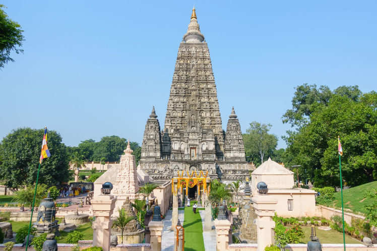 Tracing Buddha 7-week journey at Mahabodhi Temple Complex after attaining nirvana