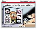 On the panel tonight