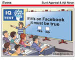 If it's on Facebook it must be true